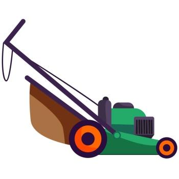 lawn mower แปลว่า เครื่องตัดหญ้า