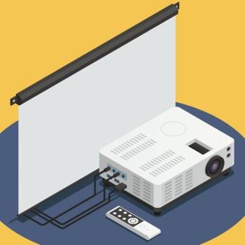 projector แปลว่า เครื่องฉายภาพสไลด์