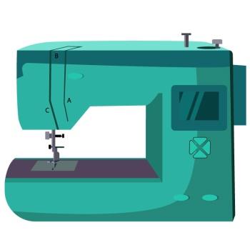 sewing machine แปลว่า จักรเย็บผ้า