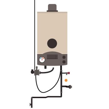water heater แปลว่า เครื่องทำน้ำอุ่น