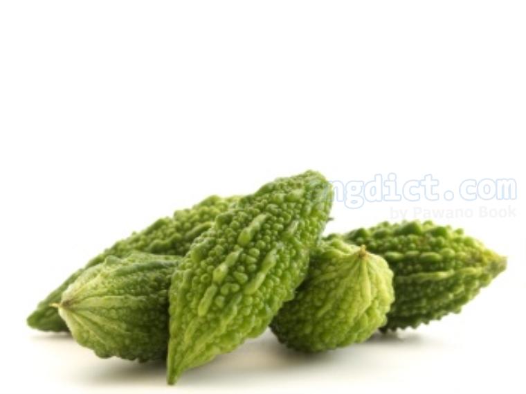 balsam pear แปลว่า มะระ