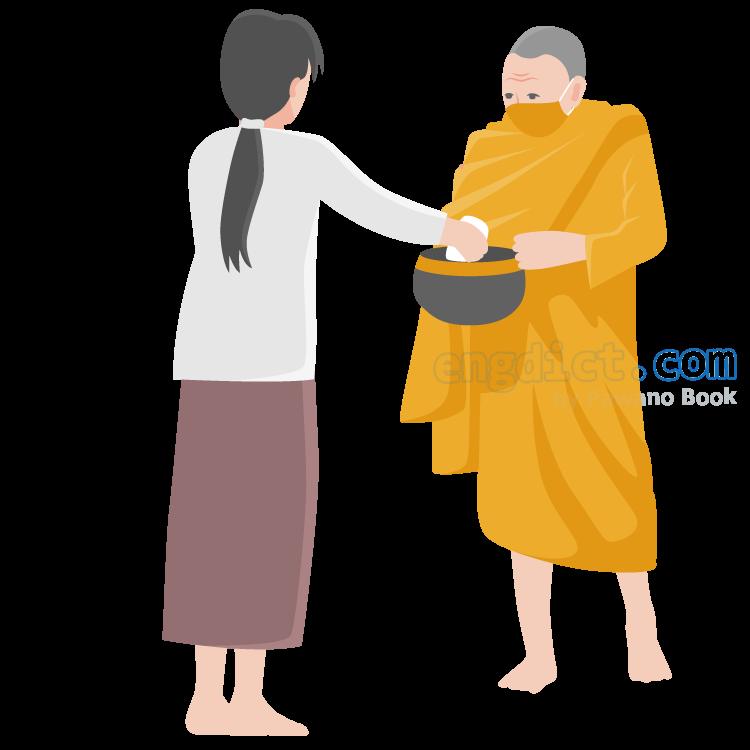 Buddhist แปลว่า พุทธศาสนิกชน