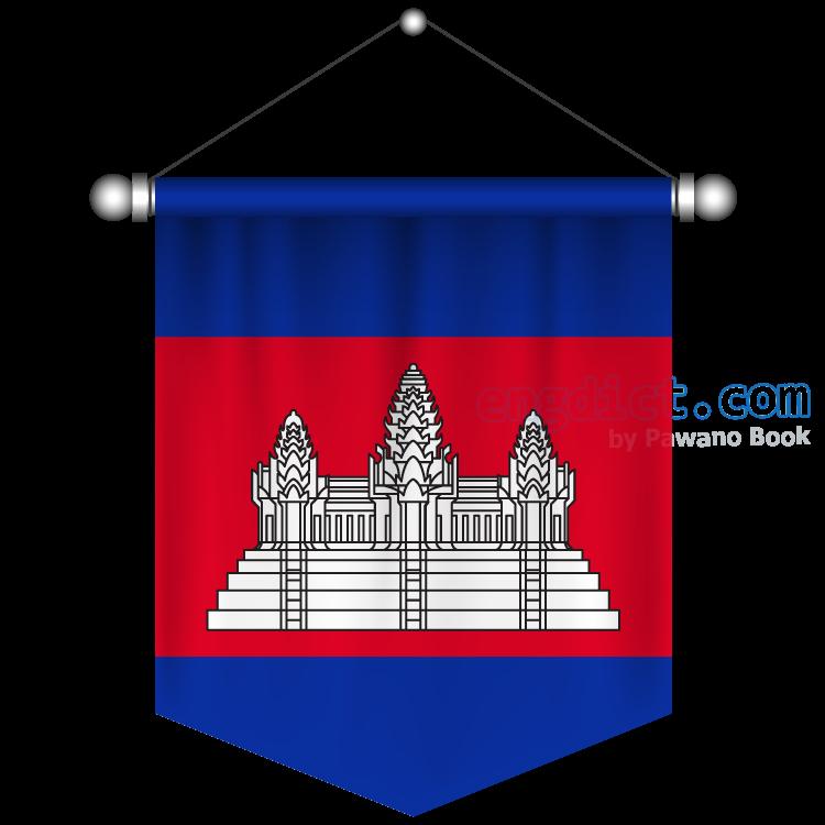 Cambodia แปลว่า กัมพูชา