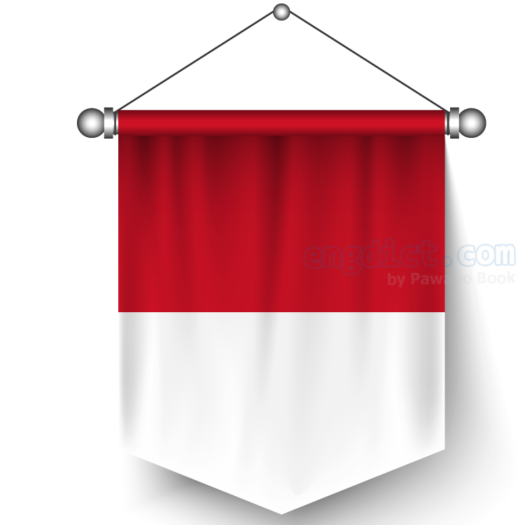 Indonesia แปลว่า อินโดนีเซีย