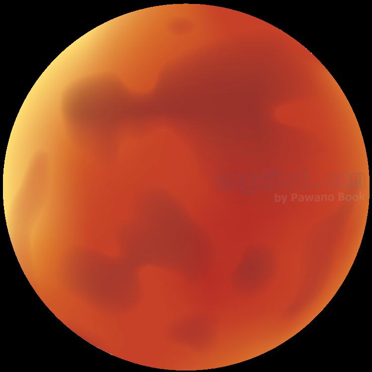 Mars แปลว่า ดาวอังคาร