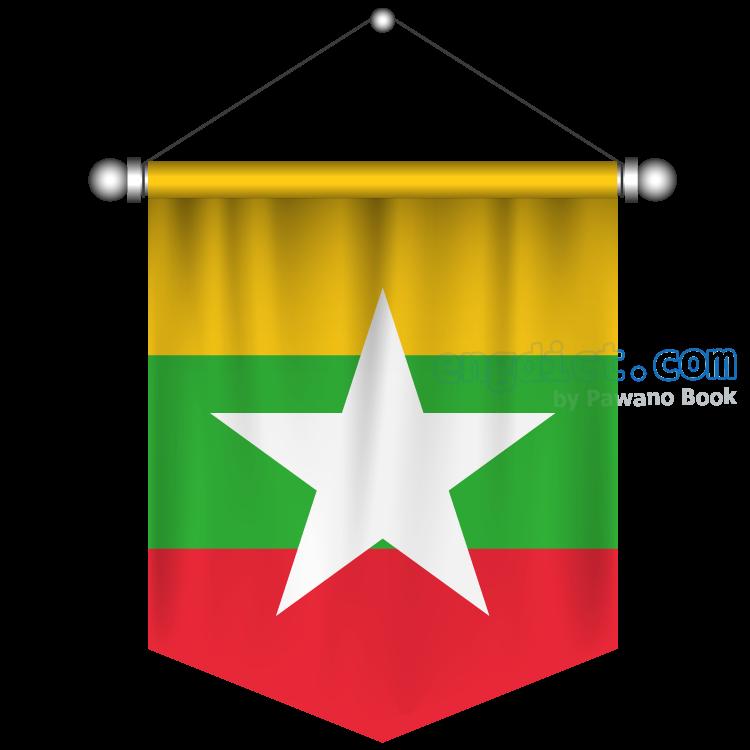 Myanmar แปลว่า พม่า