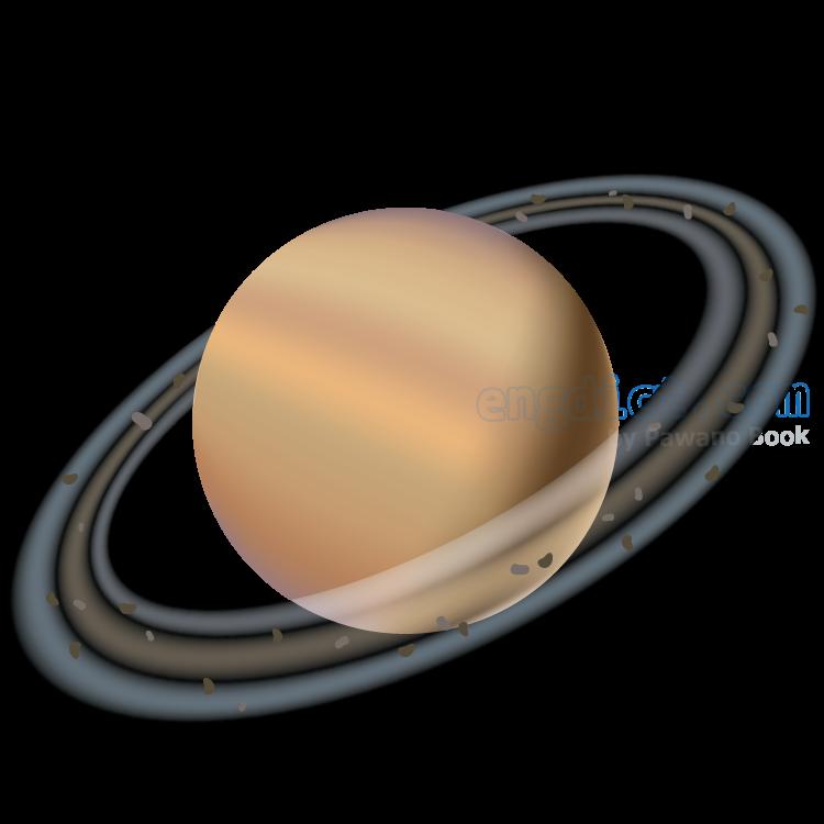 Saturn แปลว่า ดาวเสาร์