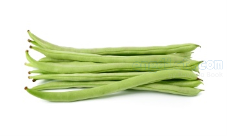 String bean แปลว่า ถั่วฝักยาว