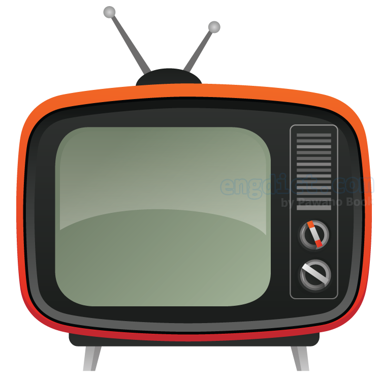 TV แปลว่า โทรทัศน์