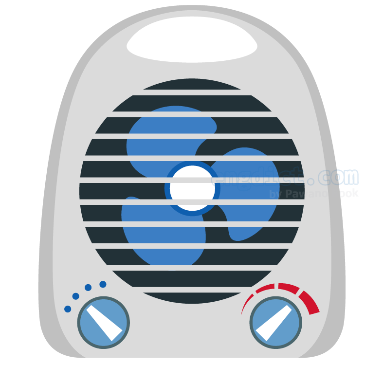 air conditioner แปลว่า เครื่องปรับอากาศ