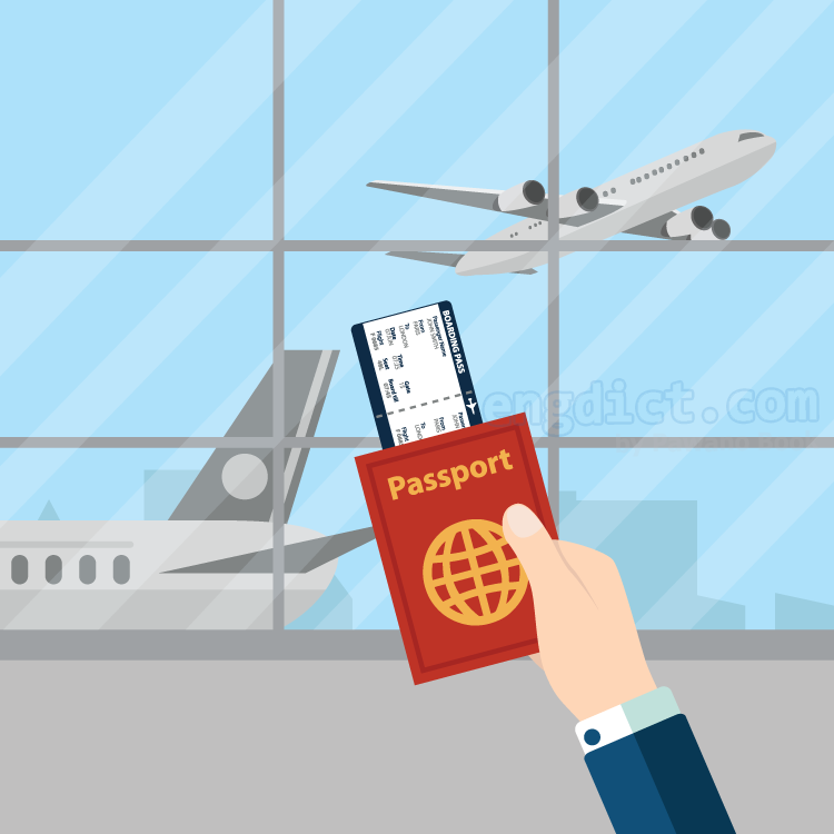 airport แปลว่า สนามบิน