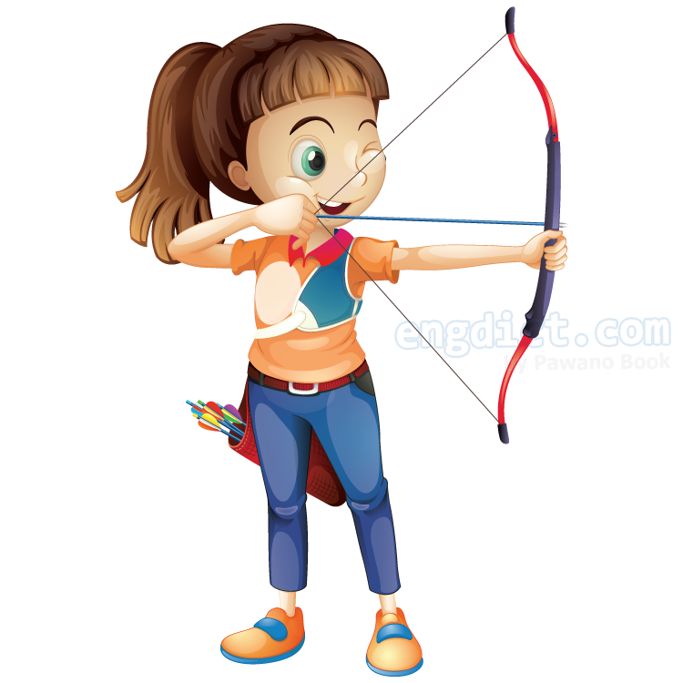archery แปลว่า กีฬายิงธนู