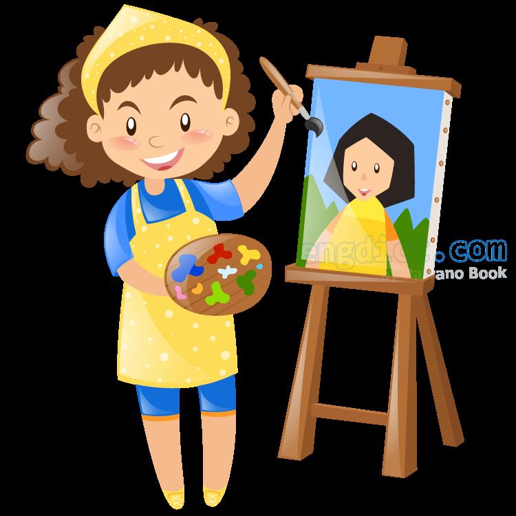 artist แปลว่า จิตรกร