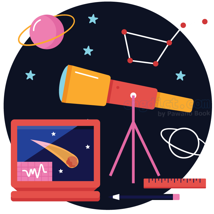astronomy แปลว่า ดาราศาสตร์