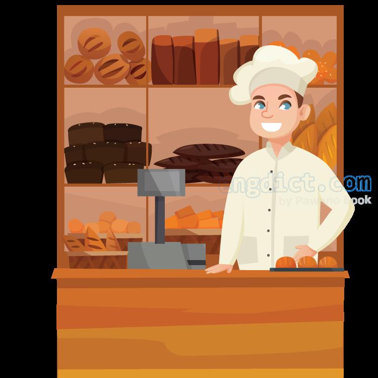 bakery แปลว่า ร้านขายขนมปัง