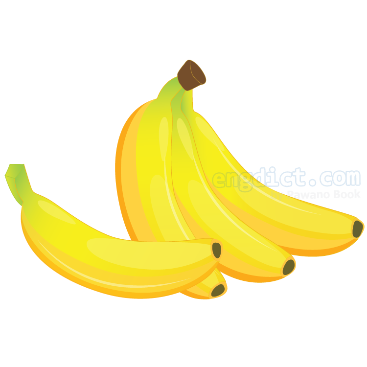 banana แปลว่า กล้วย