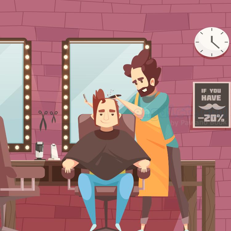 barber shop แปลว่า ร้านตัดผม