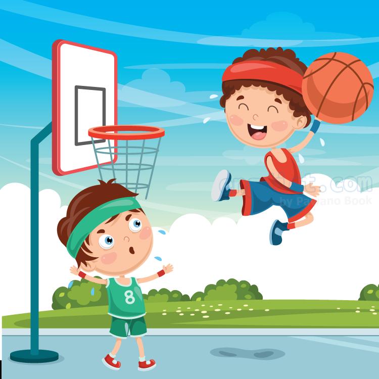 basketball court แปลว่า สนามบาสเก็ตบอล