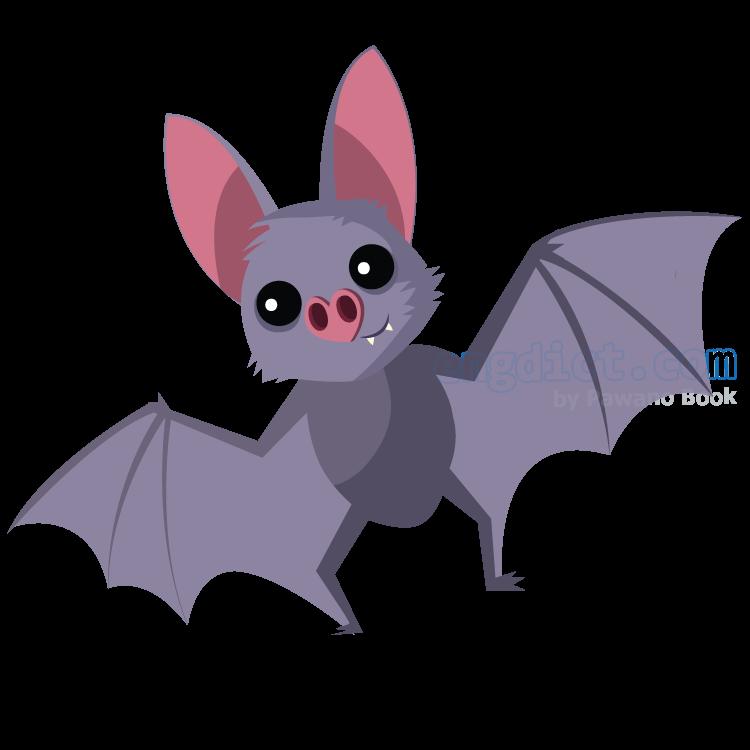 bat แปลว่า ค้างคาว