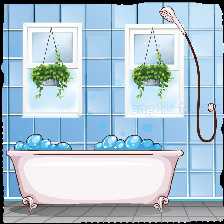 bathroom แปลว่า ห้องน้ำ