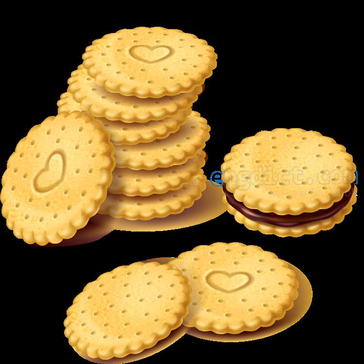 biscuit แปลว่า ขนมปังกรอบ
