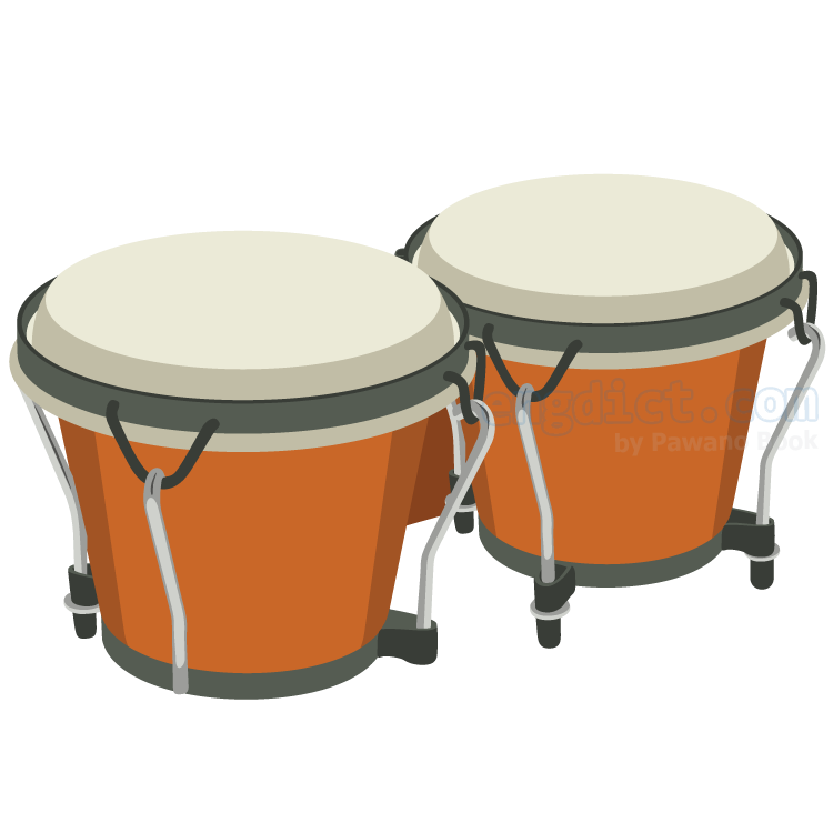 bongo แปลว่า กลองเล็ก