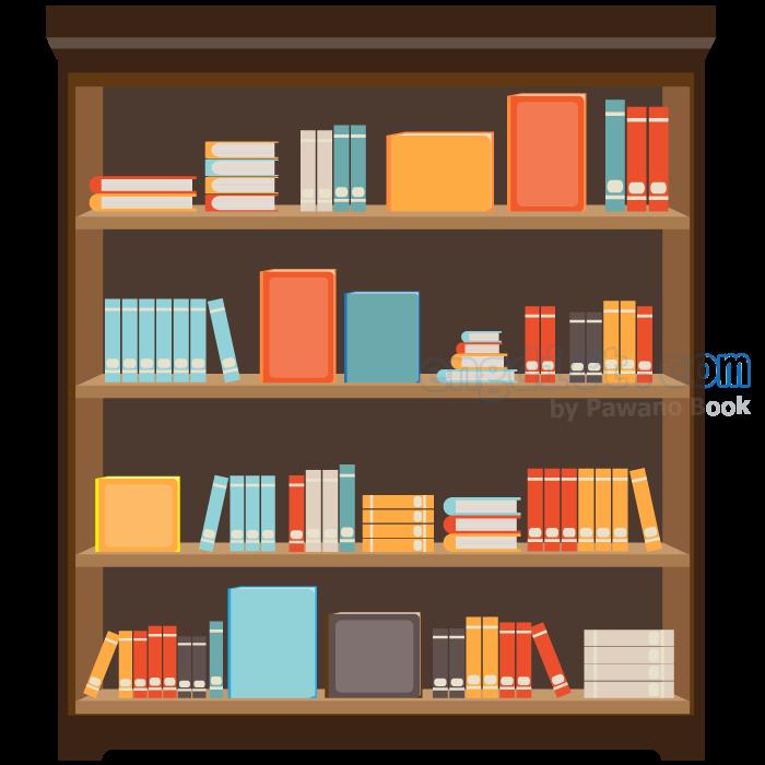 bookshelf แปลว่า ชั้นหนังสือ