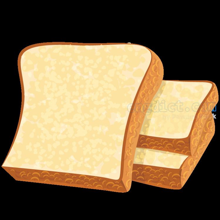 bread แปลว่า ขนมปัง