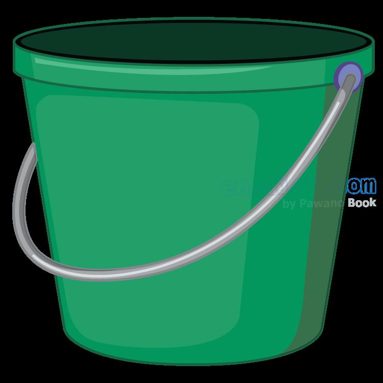bucket แปลว่า ถังน้ำ