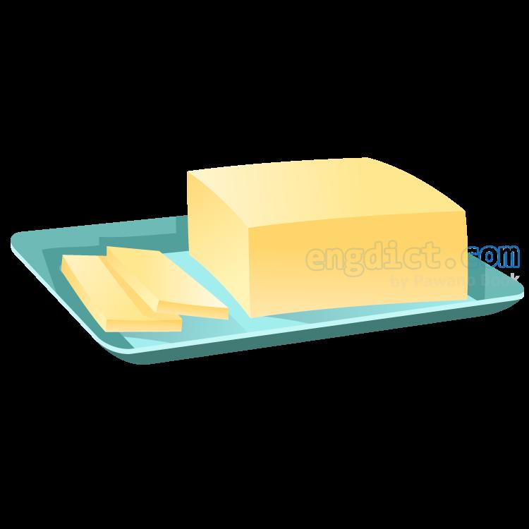 butter แปลว่า เนย