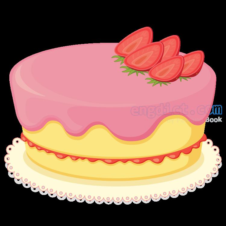 cake แปลว่า ขนมเค้ก
