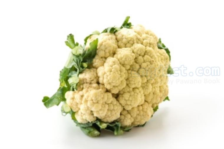 cauliflower แปลว่า ผักกะหล่ำดอก