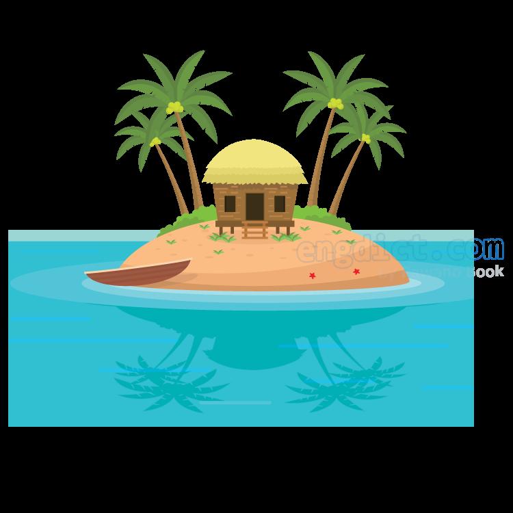 cay แปลว่า เกาะเล็กๆ