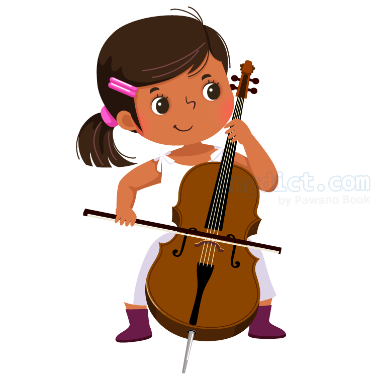 cello แปลว่า เชลโล