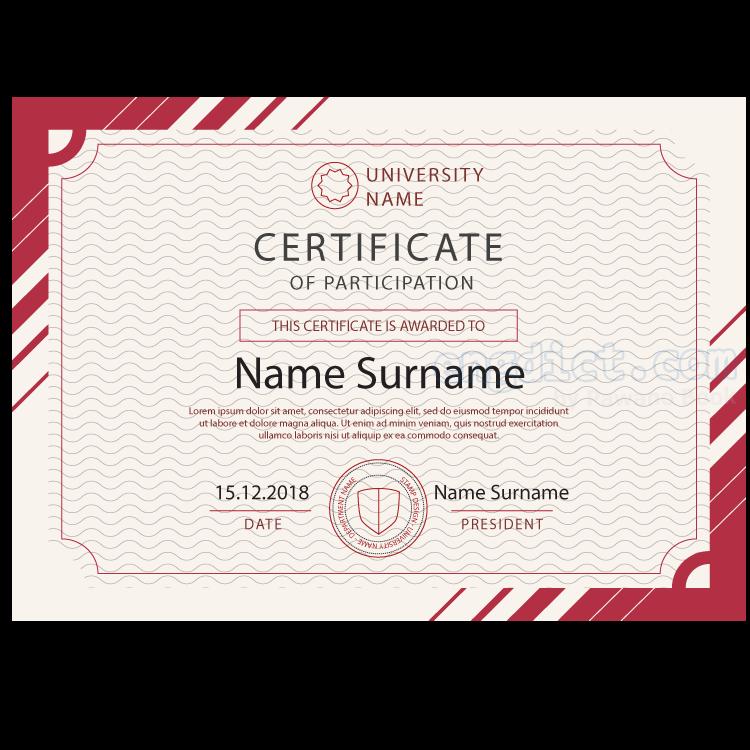 certificate แปลว่า ประกาศนียบัตร