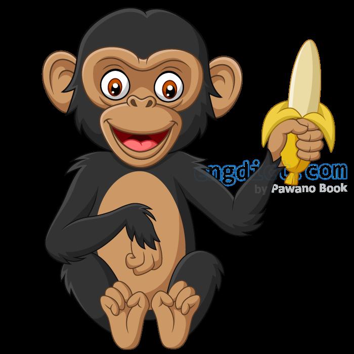 chimpanzee แปลว่า ลิงชิมแปนซี
