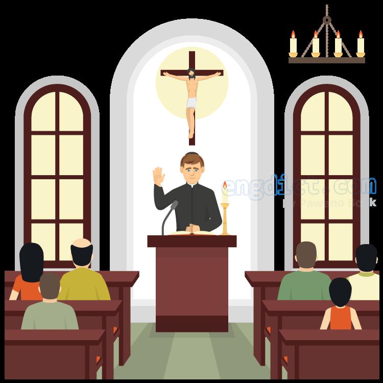 church แปลว่า โบสถ์