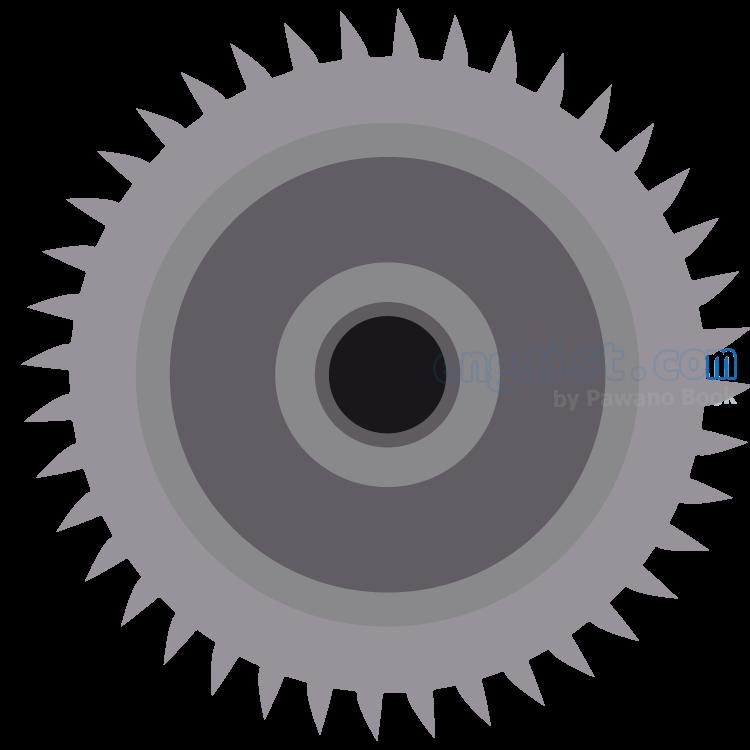 circular saw blade แปลว่า ใบมีดเลื่อยวงเดือน