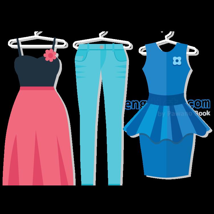 clothes แปลว่า เสื้อผ้า