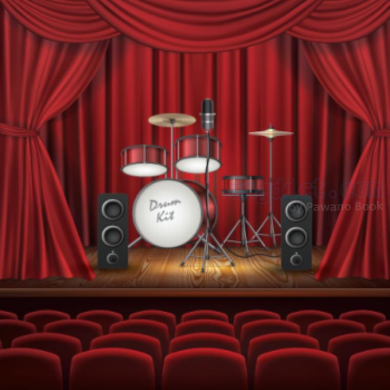 concert hall แปลว่า ห้องแสดงดนตรี