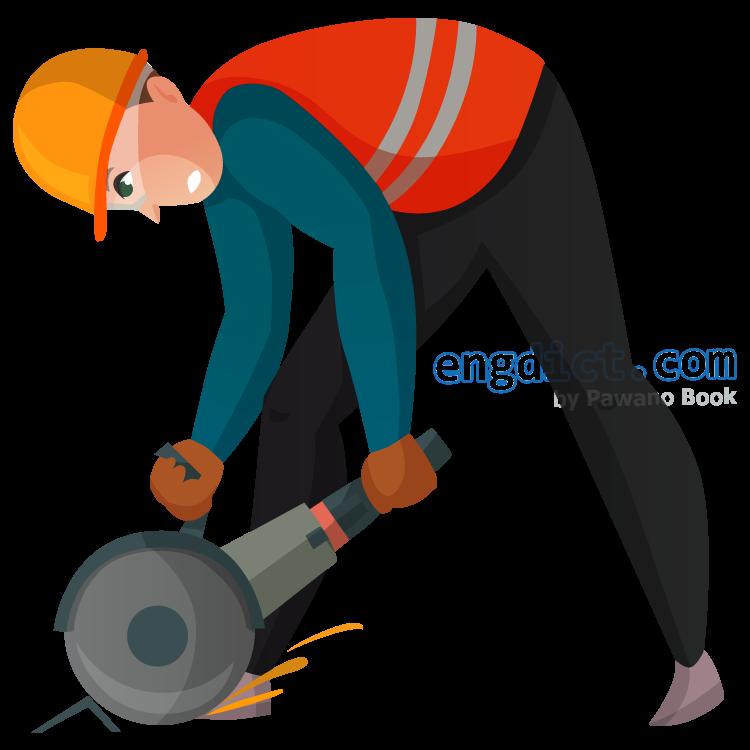 construction worker แปลว่า คนงานก่อสร้าง
