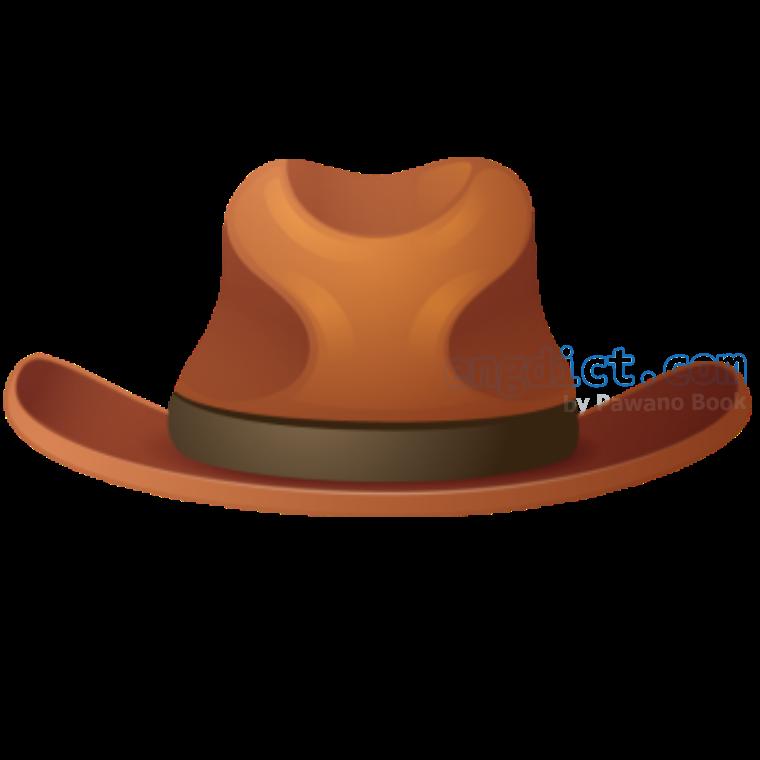 cowboy hat แปลว่า หมวกเคาบอย