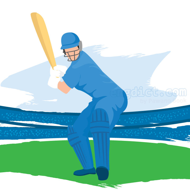 cricket แปลว่า กีฬาคริกเก็ต