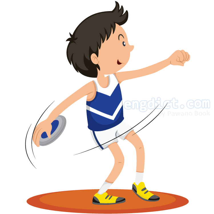 discus throwing แปลว่า กีฬาขว้างจักร