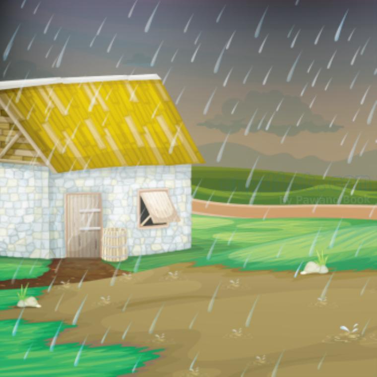 downpour แปลว่า ฝนห่าใหญ่