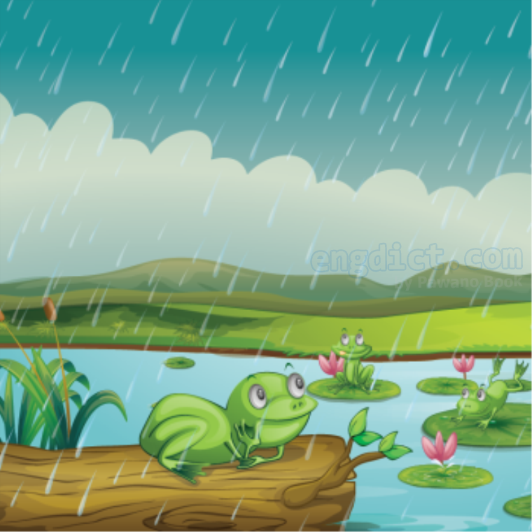 drizzle แปลว่า ฝนตกโปรยปราย