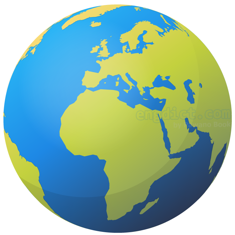 earth แปลว่า โลก