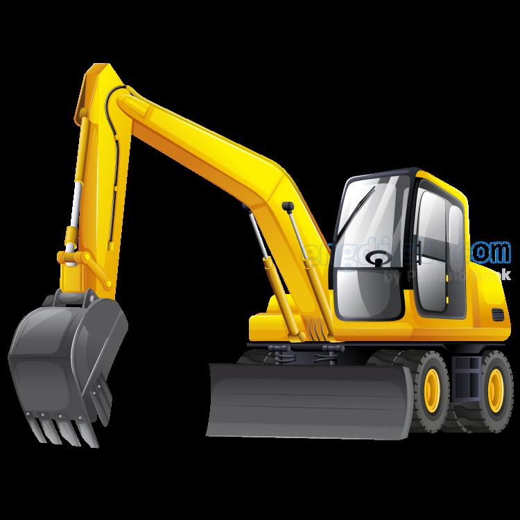 excavator แปลว่า เครื่องจักรใช้ขุด