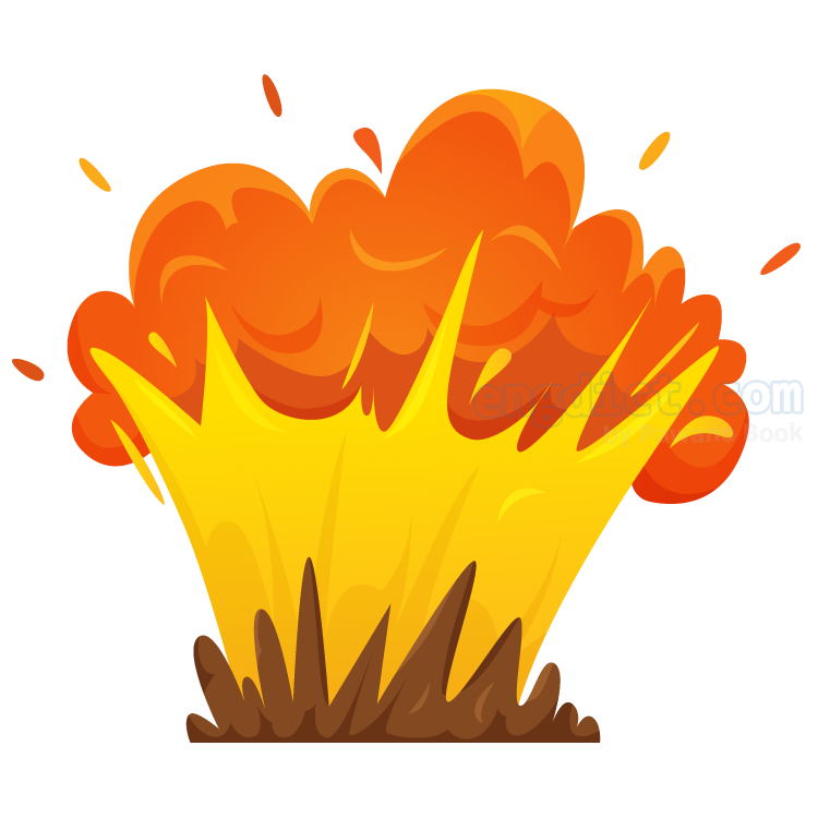 explode แปลว่า ระเบิด