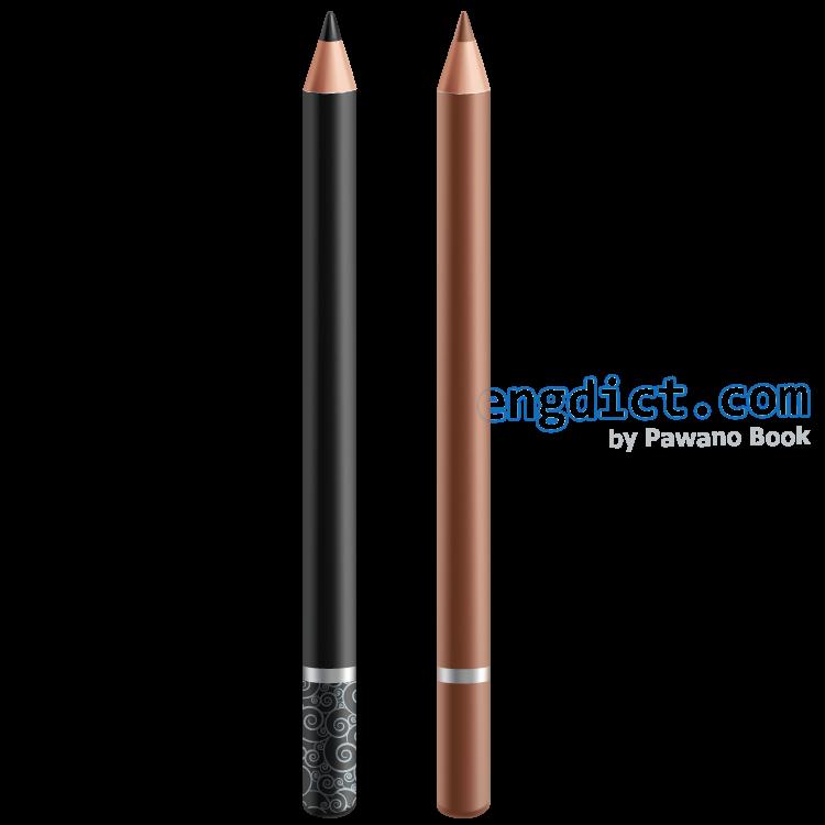 eyebrow pencil แปลว่า ดินสอเขียนคิ้ว